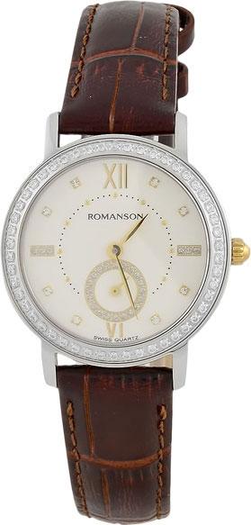 Женские часы Romanson RL3240QLC(WH)BN все цены