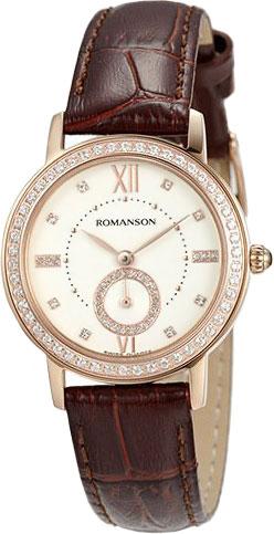 Женские часы Romanson RL3240QLR(WH)BN