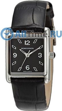 Женские часы Romanson RL3243LW(BK)BK romanson rm 6a31l lw wh