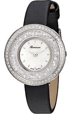 Женские часы Romanson RL3264QLW(WH)BK цена 2017