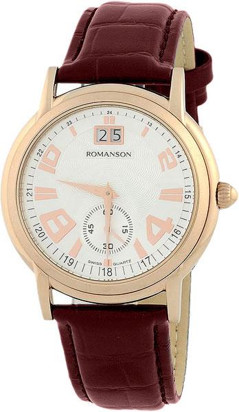 Мужские часы Romanson TL3587SMR(WH)
