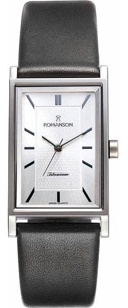 Мужские часы Romanson DL4191SMW(WH) romanson tm 9248 mj wh