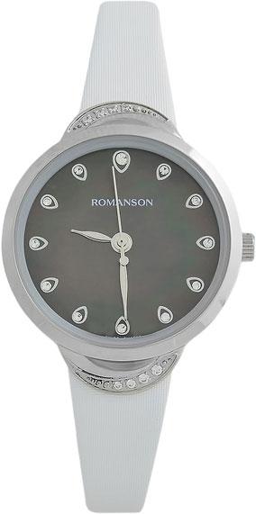 Женские часы Romanson RL4203QLW(BK)WH