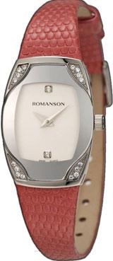 Женские часы Romanson RL4204QLW(WH) женские наручные
