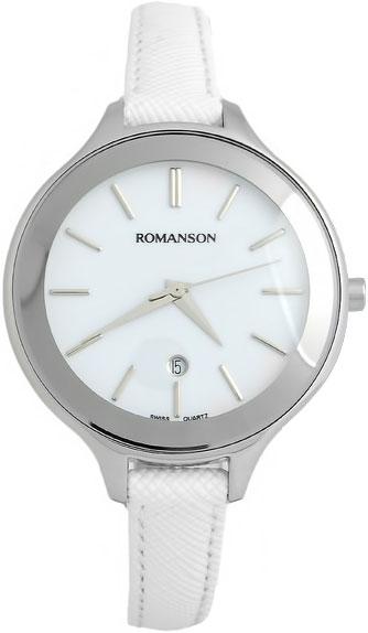 Женские часы Romanson RL4208LW(WH)WH romanson rl 6a18q lw wh wh