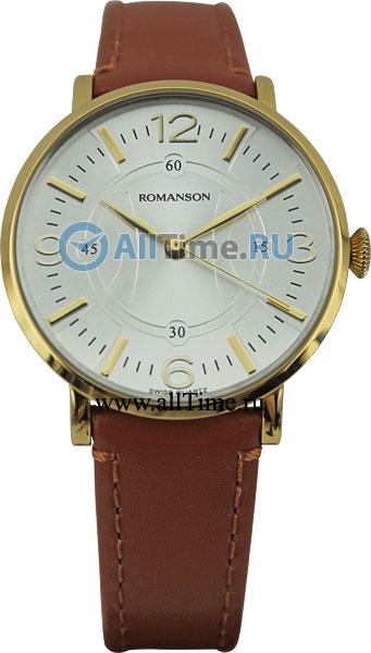Женские часы Romanson RL4217LG(WH)BN