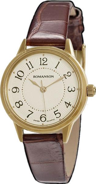 Женские часы Romanson RL4224LG(WH) romanson rl 4224 lw wh