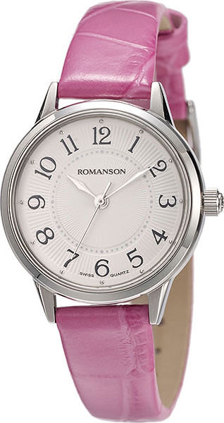 цена Женские часы Romanson RL4224LW(WH)PUR онлайн в 2017 году