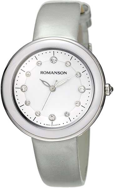 Женские часы Romanson RL4231LW(WH) romanson rl 6a18q lw wh wh