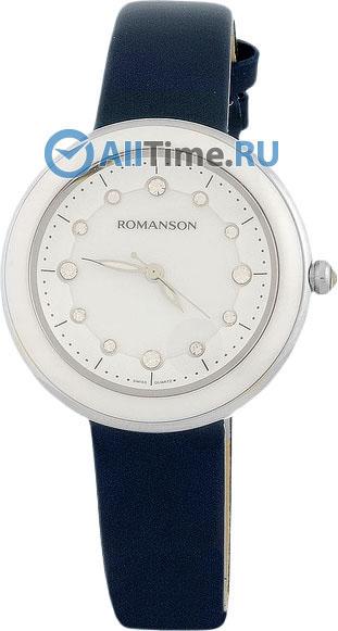 Женские часы Romanson RL4231LW(WH)BU romanson rl 4217 lw bu wh
