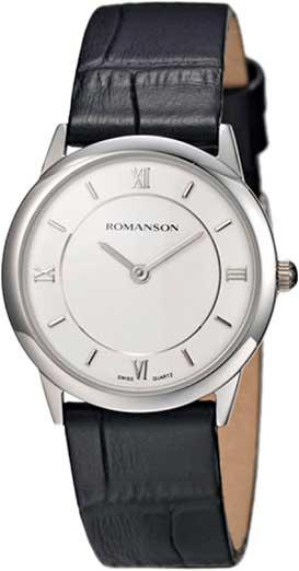 Женские часы Romanson RL4268LW(WH) romanson rm 6a31c lw wh