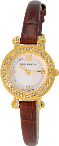 Женские часы Romanson RL5A16TLG(WH) цена и фото