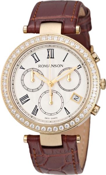 Женские часы Romanson RL6A02HLG(WH)