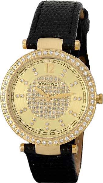 Женские часы Romanson RL6A03QLG(GD) женские часы romanson rm8276lg gd