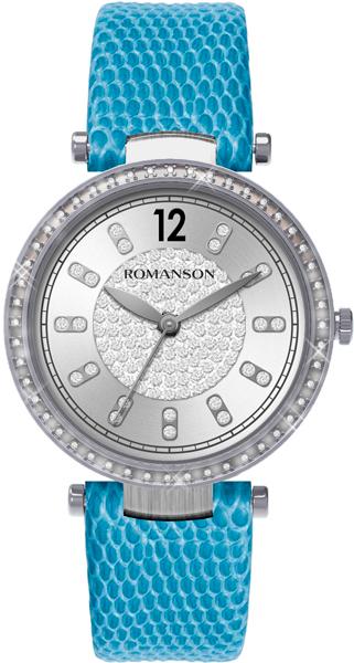 Купить Женские Часы Romanson Rl6A03Qlw(Wh)