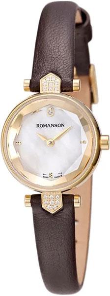Женские часы Romanson RL6A04QLG(WH)