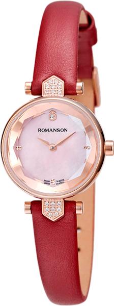 Женские часы Romanson RL6A04QLR(PINK)RED