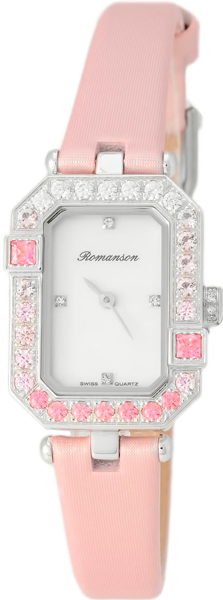 Женские часы Romanson RL6A16QLW(WH)PINK