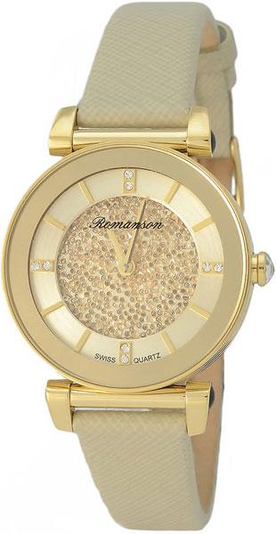 Женские часы Romanson RL6A29LLG(GD)
