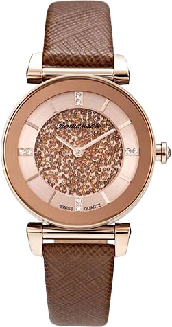 Женские часы Romanson RL6A29LLR(RG) romanson 5162 ql rg rl
