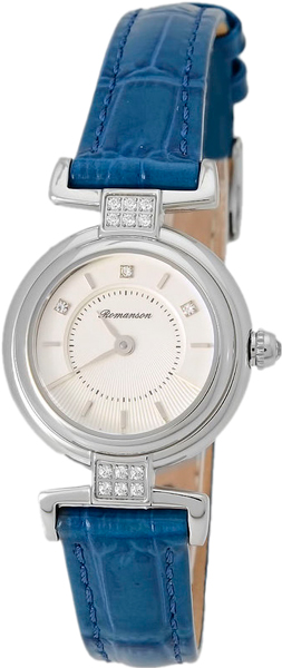 Женские часы Romanson RL6A33QLW(WH)BLUE