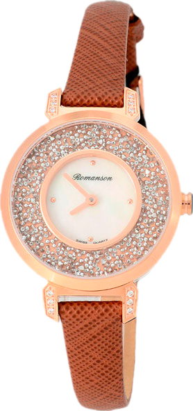 Женские часы Romanson RL6A36QLR(WH)