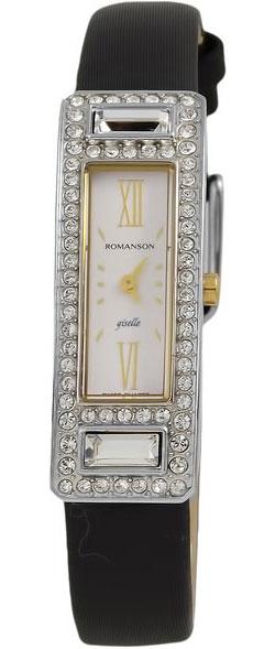 Женские часы Romanson RL7244QLC(WH) romanson часы romanson rm5113qlc wh коллекция giselle
