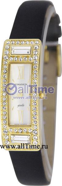 Женские часы Romanson RL7244QLG(WH) romanson часы romanson rm5113qlc wh коллекция giselle