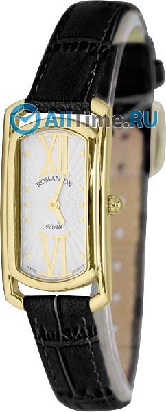 Женские часы Romanson RL7281SLG(WH) romanson часы romanson rm5113qlg wh коллекция giselle