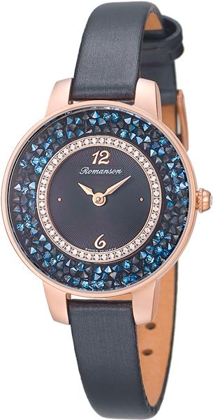 Женские часы Romanson RL7A29QLR(BK)