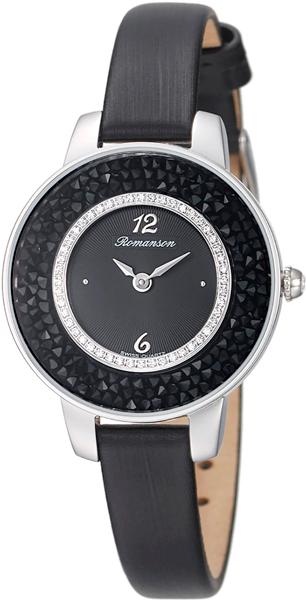 Женские часы Romanson RL7A29QLW(BK)