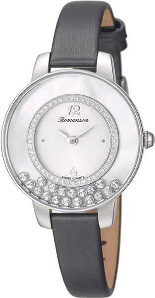 Женские часы Romanson RL7A30QLW(GR)