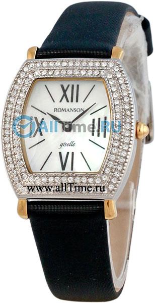 Женские часы Romanson RL8209QLC(WH) romanson часы romanson rm5113qlg wh коллекция giselle