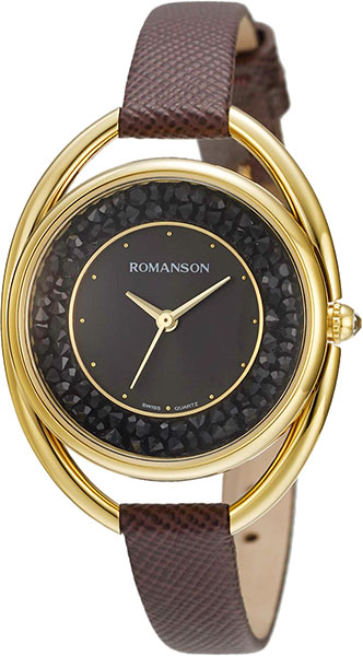 Женские часы Romanson RL8A01LLG(BK)