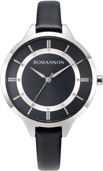 Женские часы Romanson RL8A28LLW(BK) цена и фото