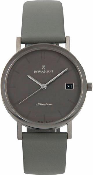 цена Мужские часы Romanson DL9782SMW(GR) онлайн в 2017 году
