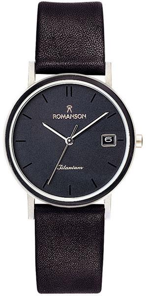 лучшая цена Мужские часы Romanson DL9782SMW(BK)