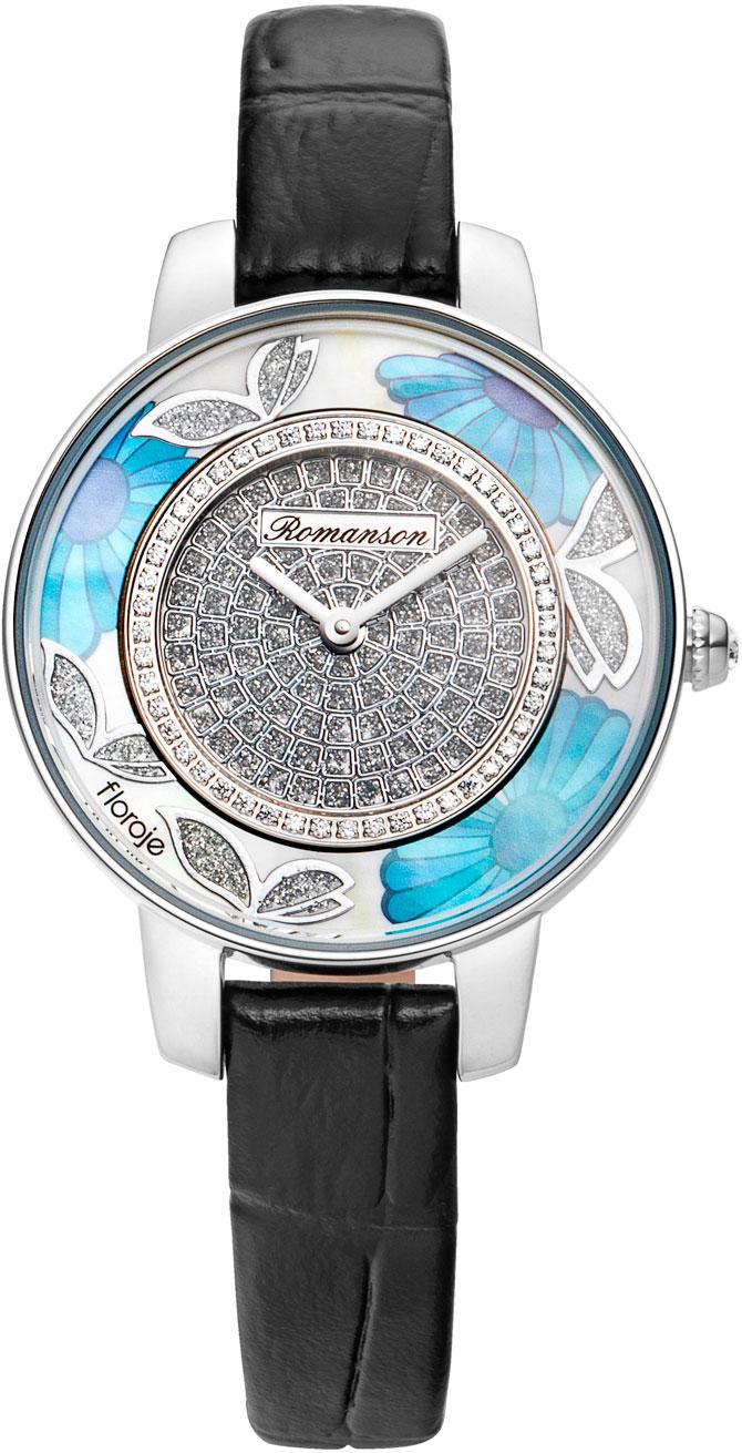 лучшая цена Женские часы Romanson RL9A03LLW(WH)BK