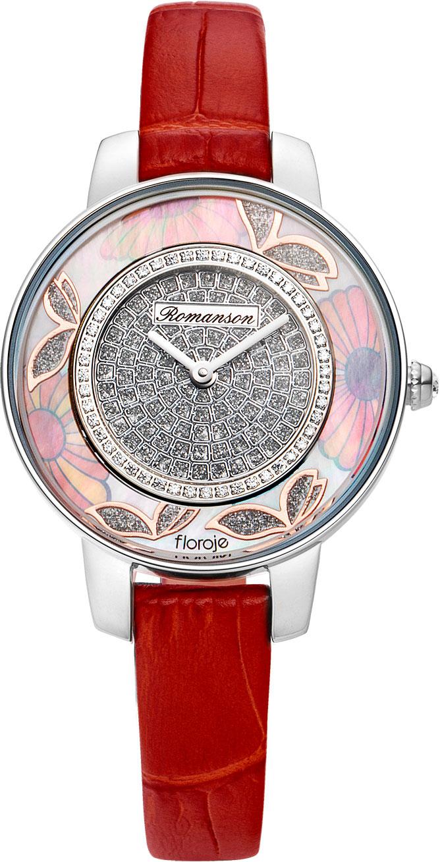 Фото - Женские часы Romanson RL9A03LLW(WH)RED wh red