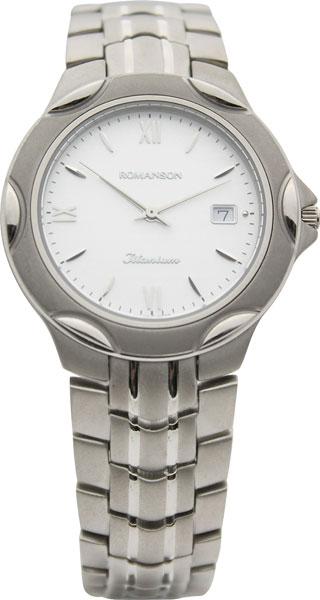 Мужские часы Romanson TM0591MW(WH) romanson tm 9248 mj wh