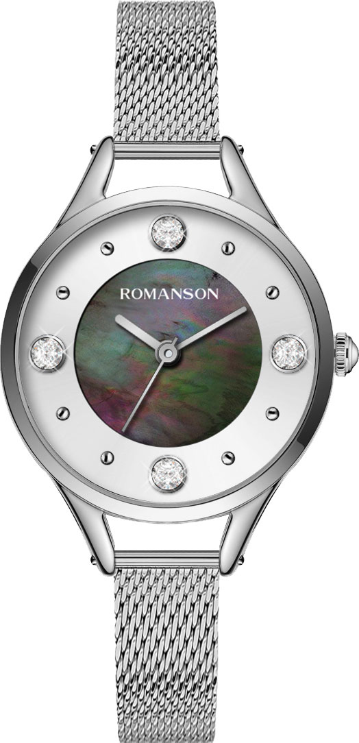 Женские часы Romanson RM0B04LLW(BK) цена и фото