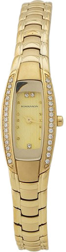 Женские часы Romanson RM1123RLG(GD) romanson часы romanson rm2140qlg gd коллекция lady dressy