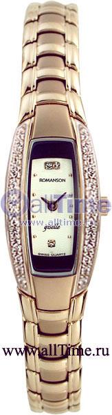 Женские часы Romanson RM1123RLR(WH) romanson rm 6a31c lw wh