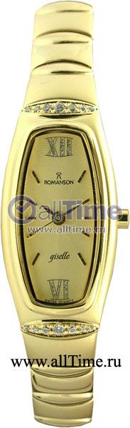 Женские часы Romanson RM2140QLG(GD) romanson часы romanson rm2140qlg gd коллекция lady dressy