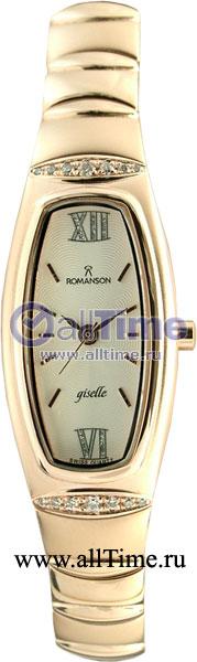 Женские часы Romanson RM2140QLR(WH) romanson rm 2140 lj wh