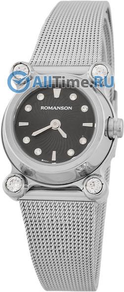 Женские часы Romanson RM2634QLW(BK)