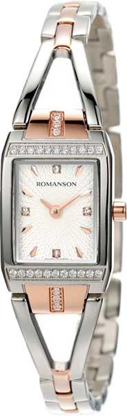 Женские часы Romanson RM2651QLJ(WH) romanson rm 6a31c lw wh