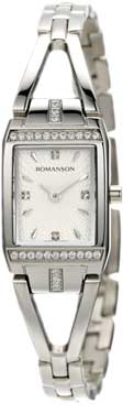 Женские часы Romanson RM2651QLW(WH) romanson rm 6a31c lw wh