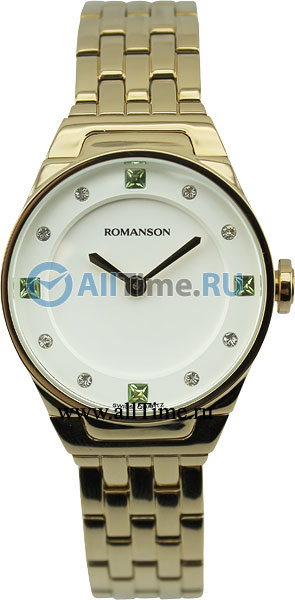Женские часы Romanson RM3209LG(WH) romanson rm 7a30q lg wh