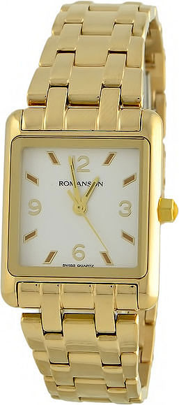 Женские часы Romanson RM3243LG(WH) romanson rm 7a30q lg wh
